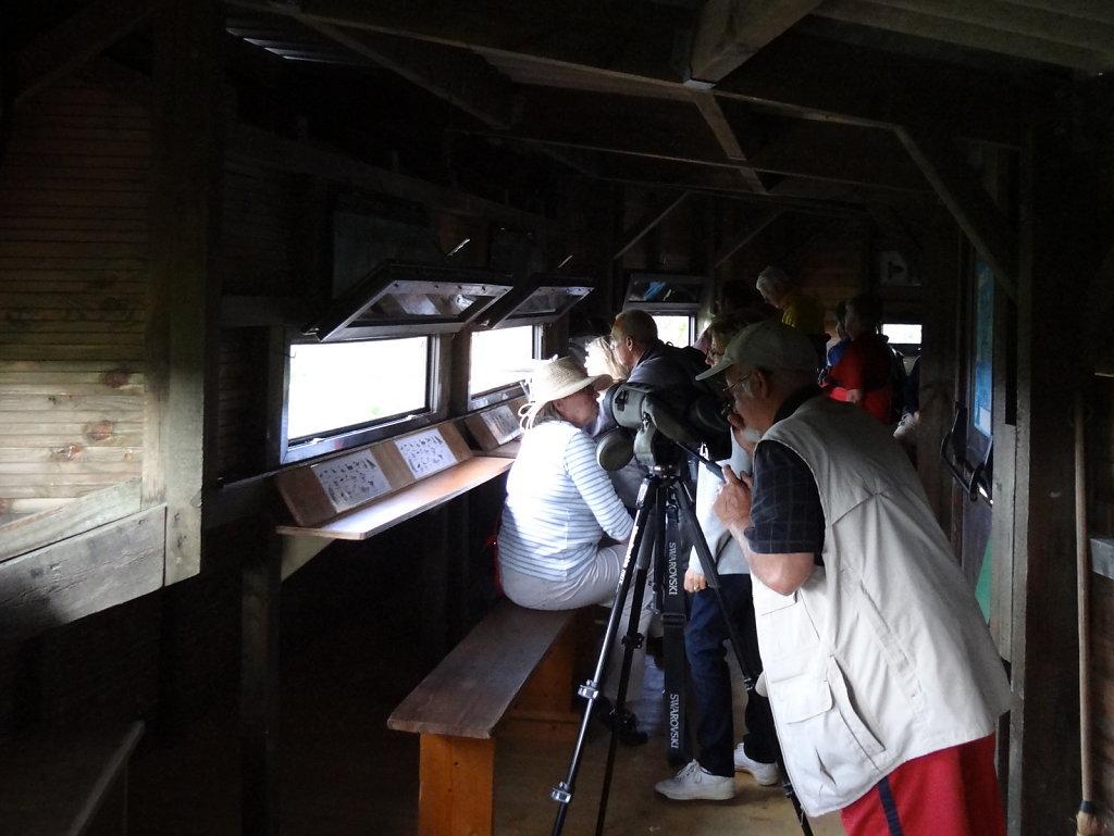 dans l'observatoire