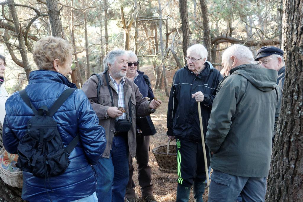 Dialogue entre mycologues avertis