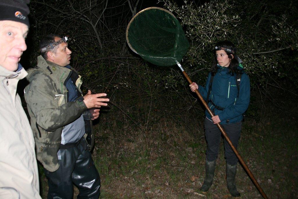 une soirée riche en explications, constat amer forte perte d'espèces due à l'assèchement et la prédation des poissons (perches) et écrevisses