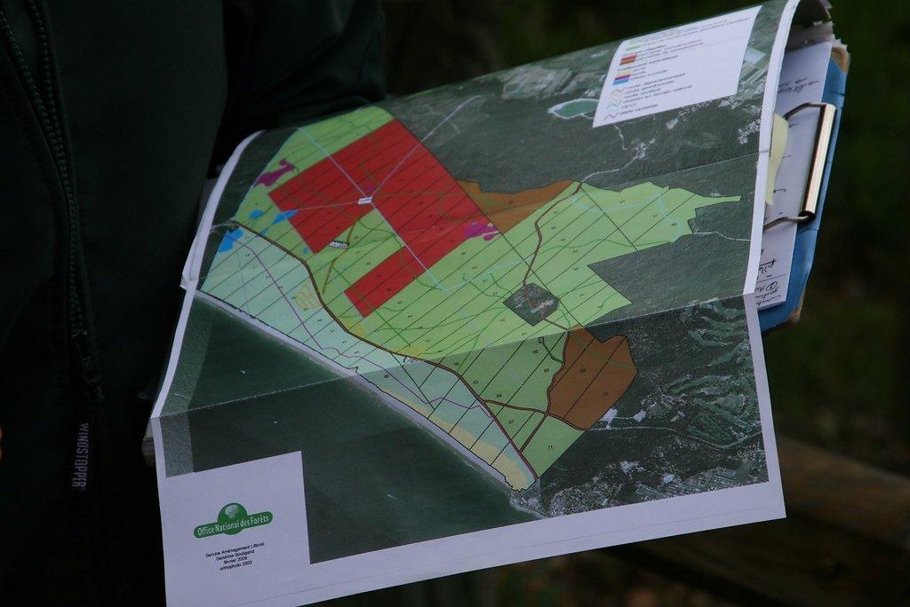 zones d'exploitation, de conservation