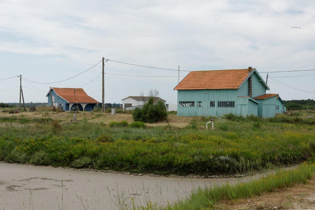 Cabanes ostréicoles Port de Coux
