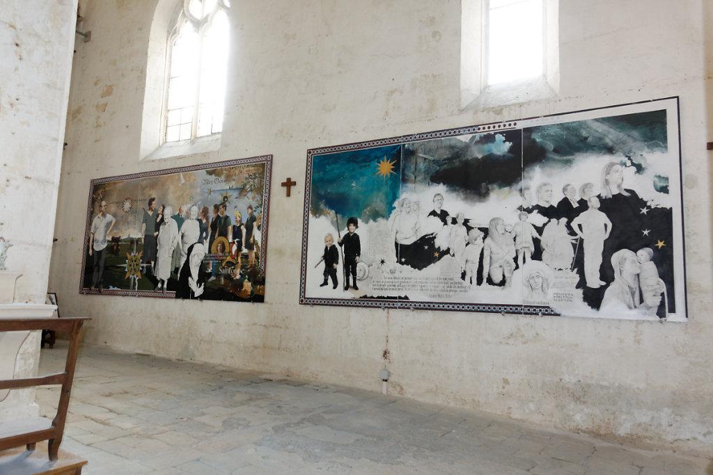 Fresques contemporaines de Jean-Michel Bénier