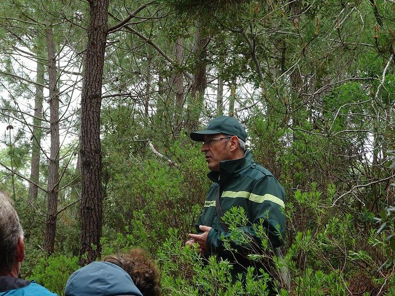 notre guide, la forêt il connaît