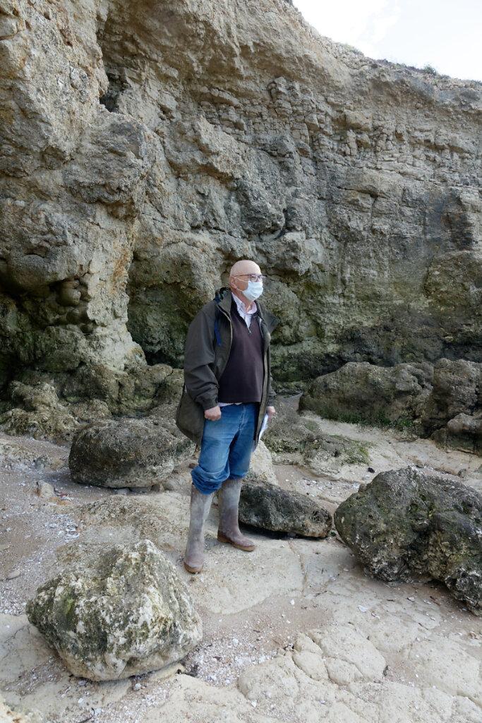 Les fossiles de la Pointe du Chay
